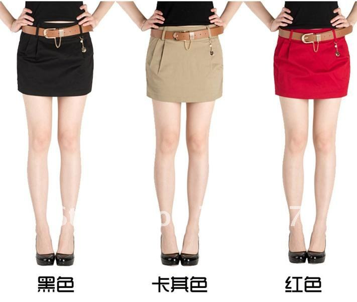 Free shipping   Skirts pants leisure pure cotton hot pants have big yards female skirts pants summer short