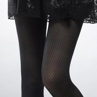 free shipping Small mesh square grid jacquard mesh stockings mesh socks stockings fishing net socks female 1108-h