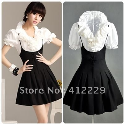 Free shipping solid ruffles sleeveless strap pockets ladies skirt Jumpsuits & Rompers 2012 new fashion