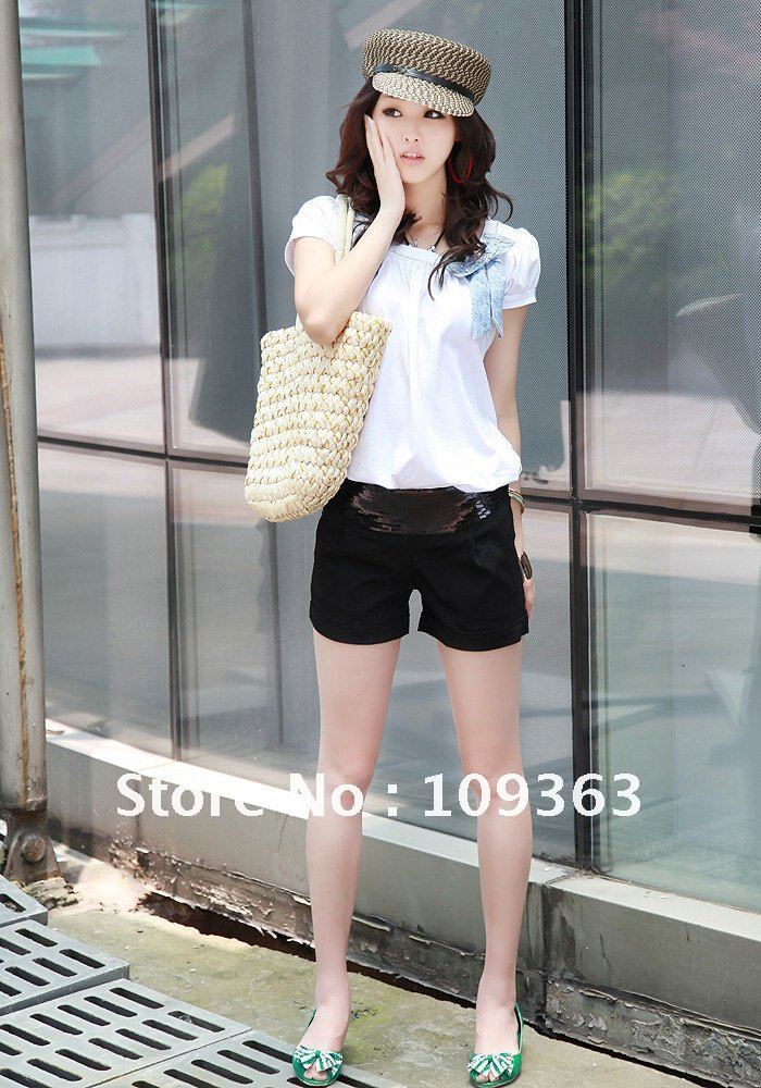 Free Shipping,Summer New Fashion Women's Shorts Pants ,Ladies'Hot Pants ,Boots pants QQ1053