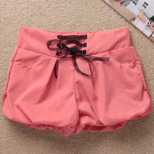 free shipping The fair maiden fashion ribbon lanterns shorts