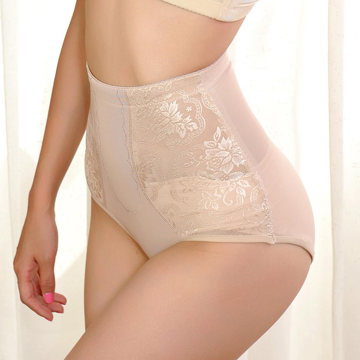 Free Shipping Thin mid waist slim waist abdomen drawing breathable butt-lifting body shaping pants