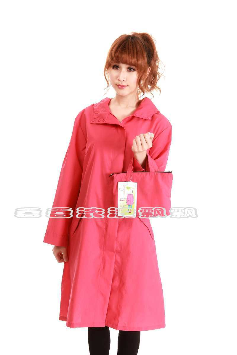 Free Shipping Thin quick-drying adult fashion raincoat outdoor jacket fabric