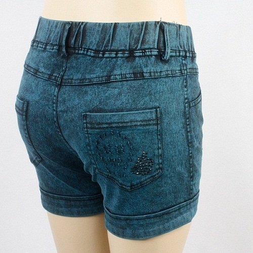 free shipping top grade women shorts  printed denim shorts 3 colors hot pants comfortable cotton jeans shorts women 2pairs/lot