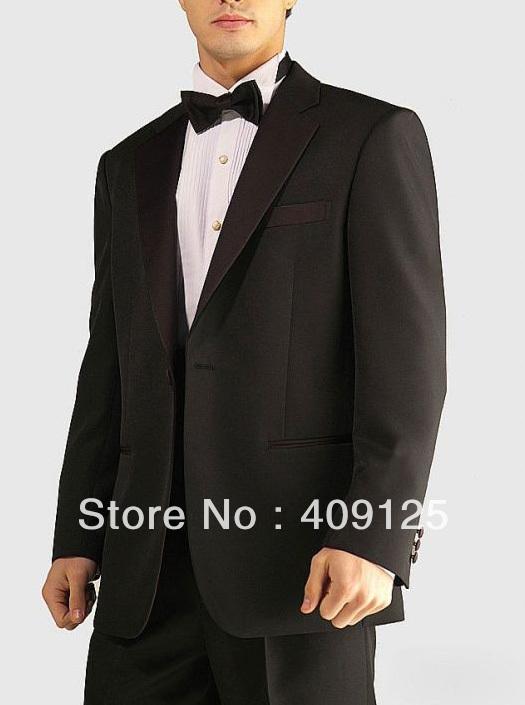 FREE shipping Top men's wedding suits Groom wear complete designer tuxedos Bridegroom groomsmen suits for men custom-made N469