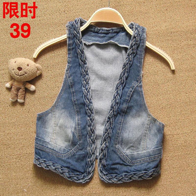 Из джинсов сделать жилетку без рукавов своими руками 6