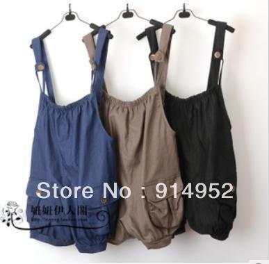 free shipping Was thin explosion models fashion harem pants Women Pants Women Slim pants coveralls hanging neck  WW1