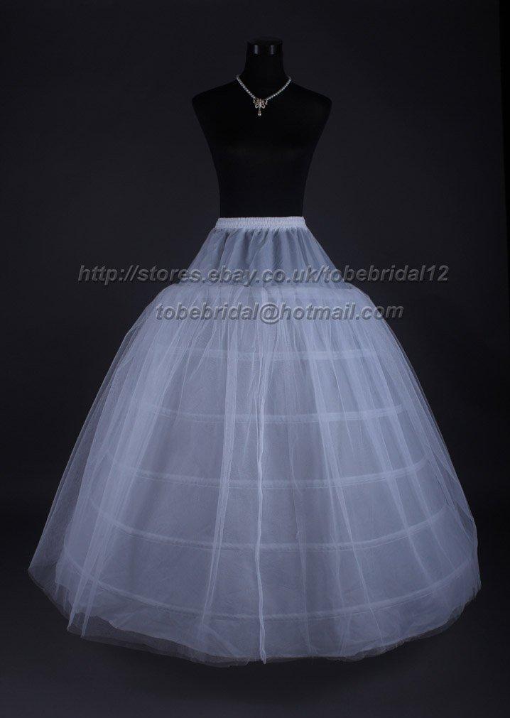 Free Shipping Wholesale 6 HOOP  Bridal  Petticoat Wedding Accessories