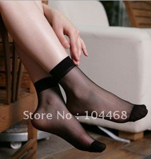 Free Shipping!  Wholesale  Cute Candy Color Rayon Socks Crystal stockings sexy ultra-thin Stockings socks 50 Pairs/lot