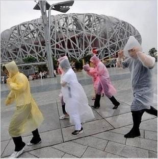 Free Shipping wholesale Raincoat Rainwear/Rainsuit,Waterproof fashion Raincoat poncho100pcs/lot