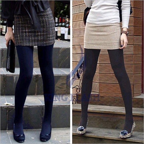 Free Shipping Winter Slim Fleece Tights Pantyhose Warmers Leggings Women Stockings 5 Colors