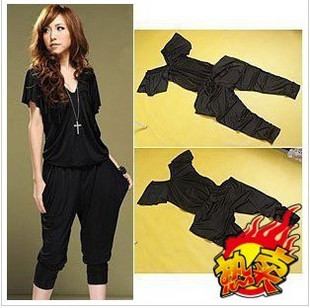 Free shipping!Women Fashion Sleeveless Romper Strap Short Jumpsuit Scoop 3 Colors/Lady's Halter Design Blouse Jumpsuit