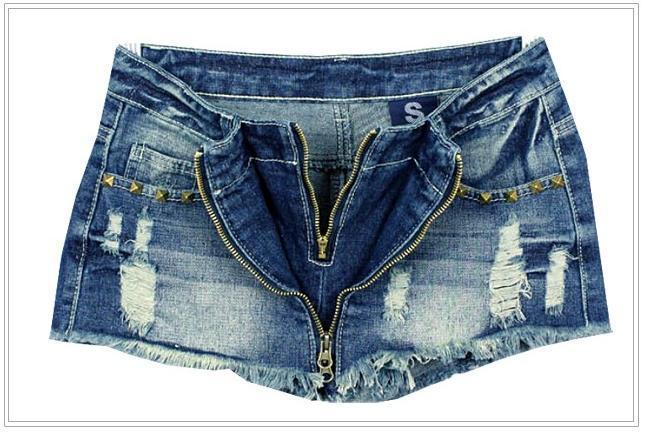 Free shipping,Women Studs Rivet Short Jeans,Fashion Wornout Hot Pants,Lady Wash Denim High-waist Shorts