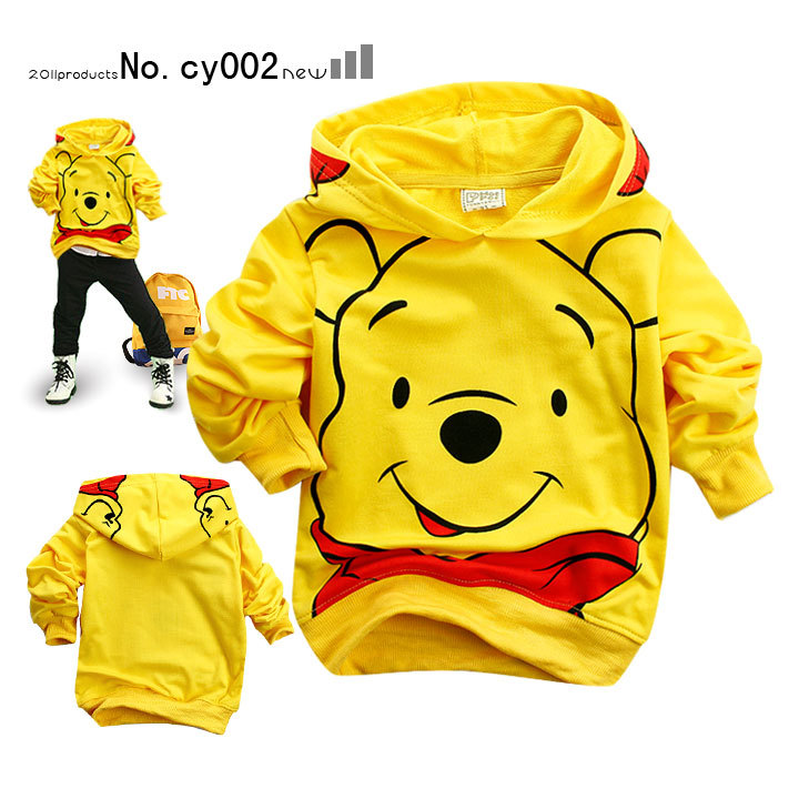 FREE SHOPPING bear head bowtie sweater girl's and boy's sweater kids clothes baby romper children's