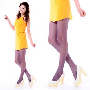 freeshipping 2012 spring sexy female pantyhose legging stockings multicolour chromophous stockings