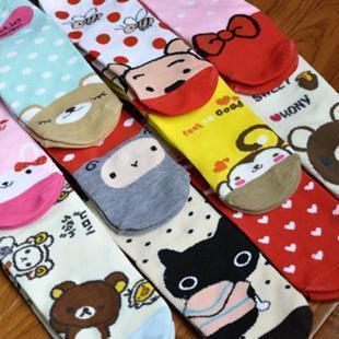 Freeshipping!accessories cartoon socks,slippers cotton socks,stockinets sock