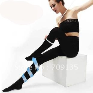 Freeshipping by EMS,  680D anti-varicose veins thick slimming pants, shaper pressure pants