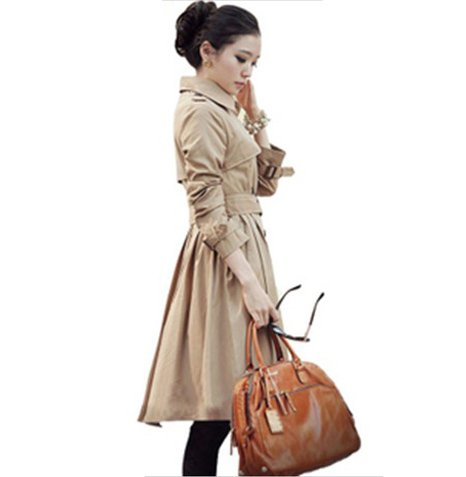 Freeshipping,Female Trench Coat,Noble Windbreaker,Double-breasted trench coat,dropshipping, WWF013