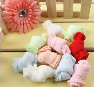 FreeShipping,Four Seasons Baby Girl Boy Children Socks Candy Colors 60 Pairs Socks/Lot, For 0-4 Years old child baby GIFT CL0104