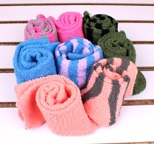 Freeshipping Hot-selling hot-selling thickening thermal floor socks towel socks lovers socks