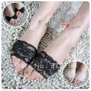 Freeshipping - new2012.women fashion boat sock slipper, lace slippers,lace sock,wholesale,gift 30pair