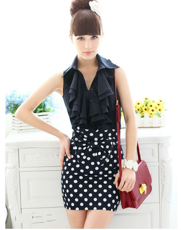 Freeshipping The foreign trade in excess of the joker Cultivate one's morality short skirt of tall waist bust skirts