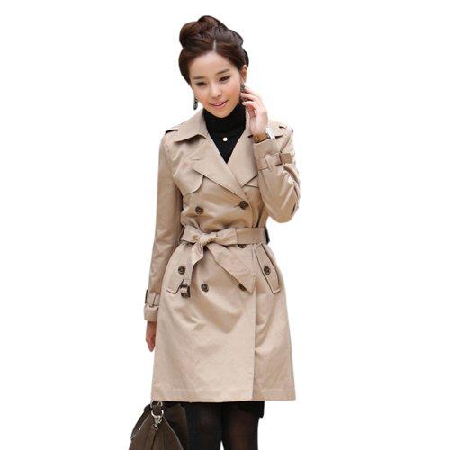 FREESHIPPING,Windbreaker for women,Fashion jacket,Long coat ,dropshipping,WWF003
