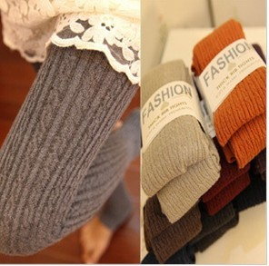 Freeshipping winter Leggings super soft cashmere and fine twist warm winter foot Stockings Pantyhose Leggings