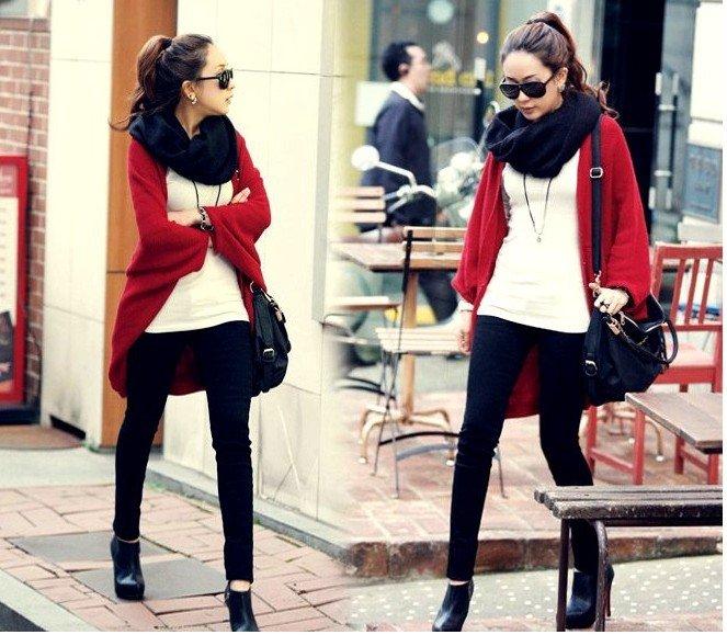 Fren shipping!,New Fashion women's thin cardigan long cape loose plus size big outerwear ladies' cardigan sweater