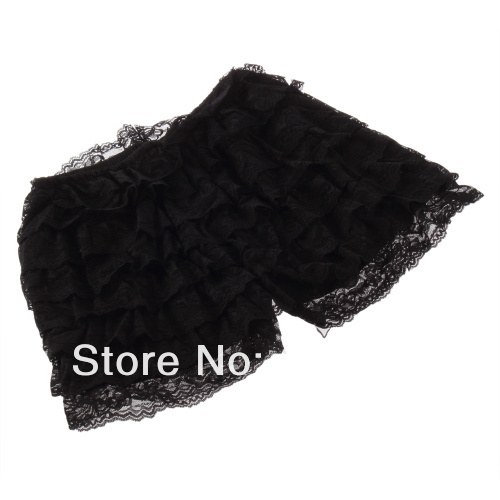 Fresh Fashion Skirt Womens Sweet Cute Crochet Tiered Lace Shorts Hot Selling