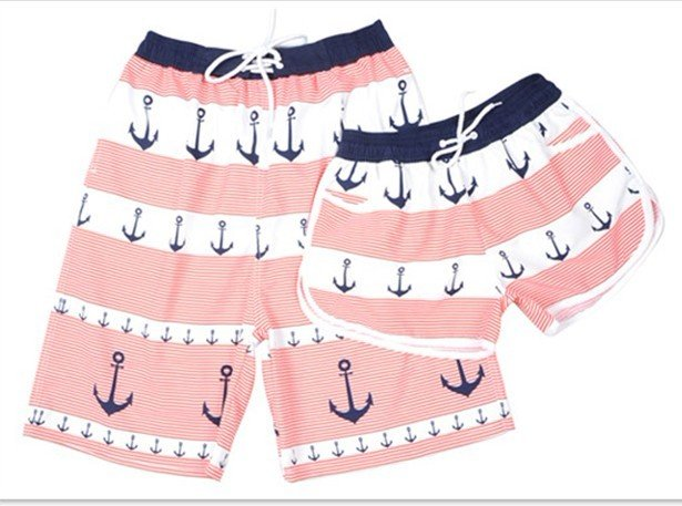Full Print  Microfiber Peached Board Shorts for Women 100% Polyester L-XL