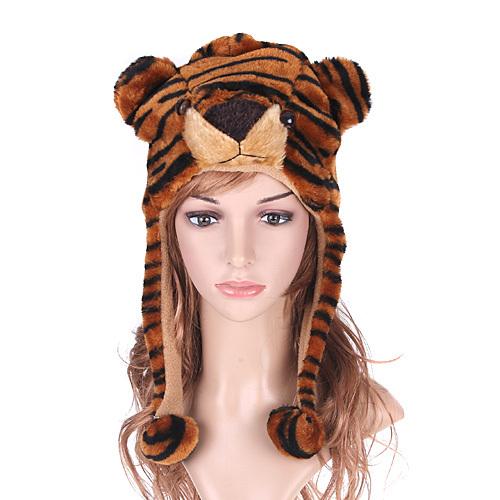 General cartoon hat animal plush style hat tiger hat earmuffs