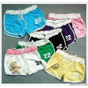 girls ladies beach shorts sportswear 30pcs/lot wholesale