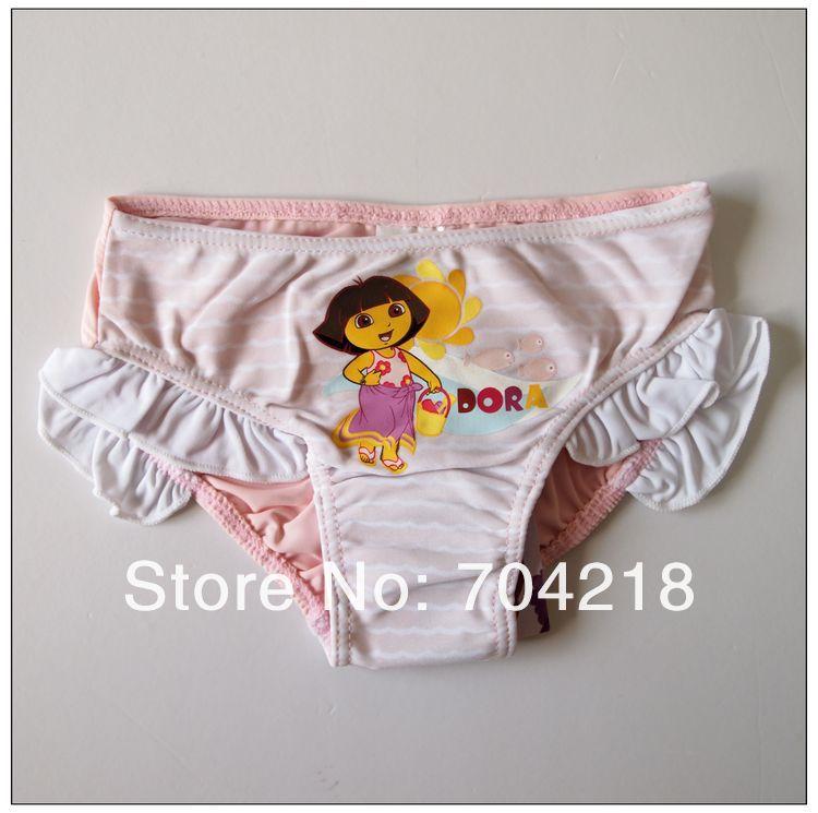 GS55- wholesale free shipping 12pcs/lot -Girl's swimwear swim trunk swim pant beach short baby clothes costume children's wear
