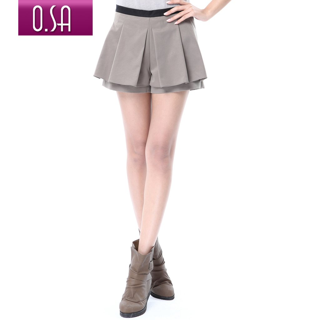 Gustless O.SA 2012 summer women's pleated casual shorts female k22021