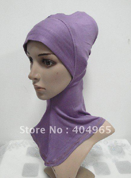 H405 fashion ninja underscarf and hats,mini hijab,fast delivery,assorted colors ninja