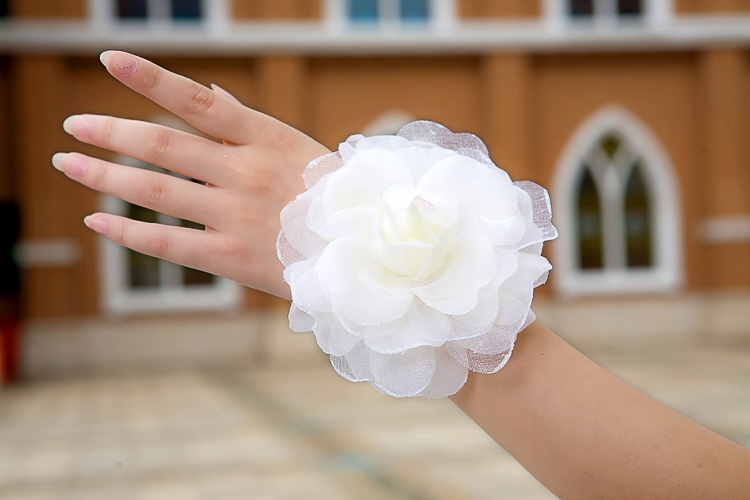 Hair accessory hair accessory wrist length flower hand flower bridal accessories hand flower corsage hair accessory hair