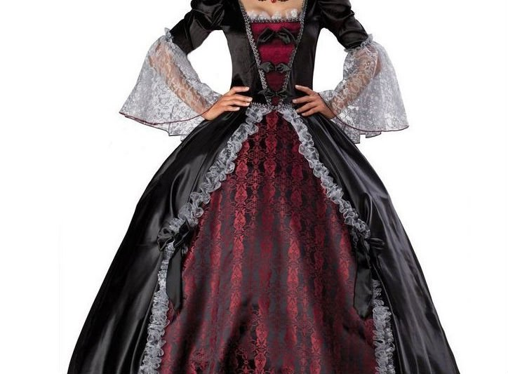 Halloween costume female vampire zombie suit Halloween witch suit masquerade party queen suit