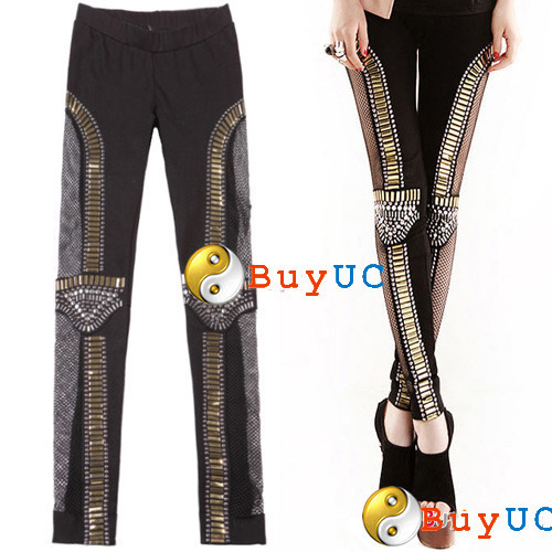 Halloween Costume Women Sexy Skull Skeletons Leggings Stocking Tights Punk Bone