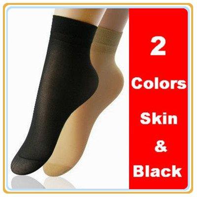 High Quality 50pairs Ladies Velvet Silk Socks Core Spun Spandex Socks Free Shipping
