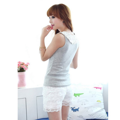 High Quality Fashion Skirt Womens Sweet Cute Crochet Tiered Lace Shorts Hot Selling Brand New