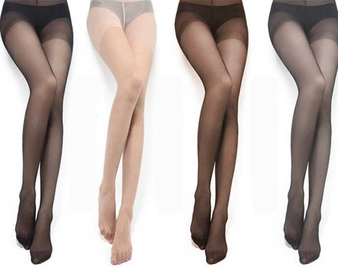 high quality wrap core silk women's tights stockings pantyhose, no consumer pack 6pair/lot