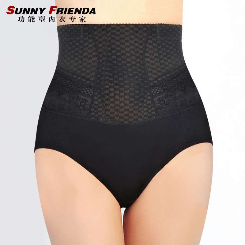 High waist abdomen drawing butt-lifting panties slimming beauty care corselets body shaping pants corset pants 2605