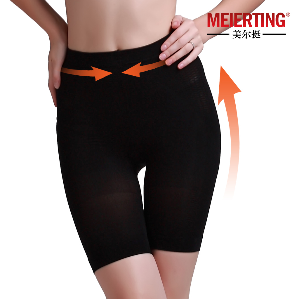 High waist butt-lifting body shaping pants butt-lifting pants shorts