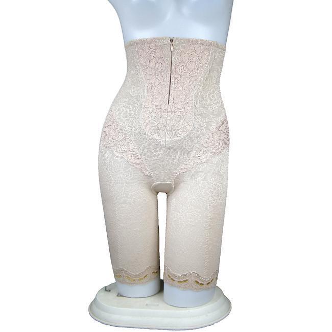 High waist pants nano bamboo charcoal abdomen drawing butt-lifting stovepipe bottom body shaping pants