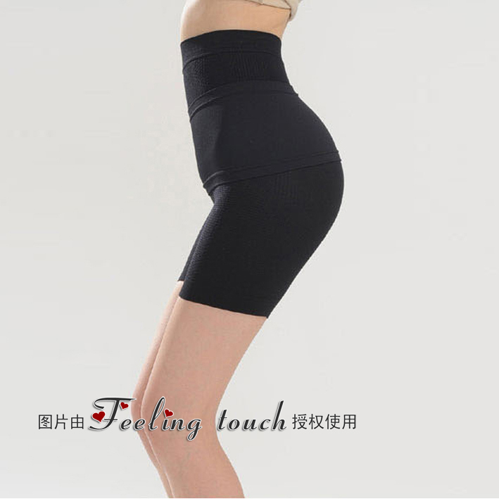 High waist postpartum abdomen drawing butt-lifting panties female summer ultra-thin body shaping seamless panties body shaping