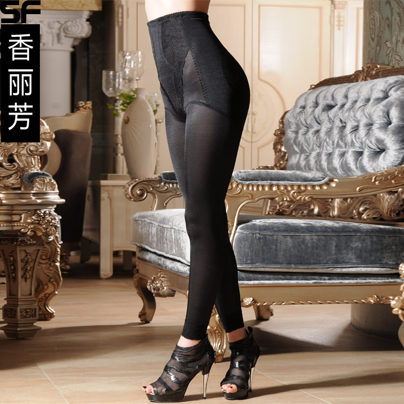 High waist postpartum abdomen drawing pants abdomen drawing butt-lifting body shaping pants trousers beauty care pants 2502