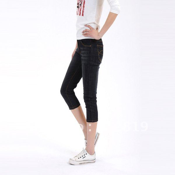 HOT  5pcs 2012 new best-selling jeans cowboy 7 minutes of pants shorts 222 ,China post free
