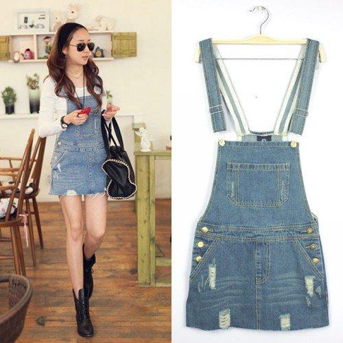HOT!!!Fashion Korea new joker Women denim Jeans Jumpsuit women jeans overalls freeshipping