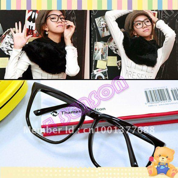 Hot Fashion Women Men Clear Lens Wayfarer Nerd Frame Glasses Free Shipping 712